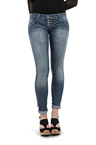 Please Damen Jeanshose Gr. Medium, blau