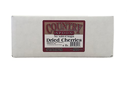 No Sugar Added Dried Tart Montmorency Cherries 4 lb by Country Spoon
