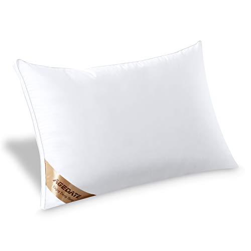 Agedate枕快眠枕高反発枕まくら43×63cm良い通気性横向き対応丸洗い高さ調節可能ホテル仕様