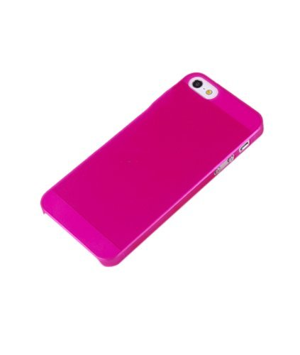 iPhone 4 4S Case,KolorFish iSimple Ultra Thin Light Slim Minimal Plastic Anti-Scratch Protective Cover Case for Apple iPhone 4 4S - Frosted Pink
