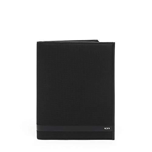 TUMI - Alpha Zip-Around Letter Pad Journal Notebook for Men - Black