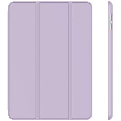 JETech Hülle Kompatibel iPad (9,7 Zoll, Modell 2018/2017, 6. / 5. Generation), Intelligent Schutzhülle mit Auto Schlafen/Wachen, Helles Lila