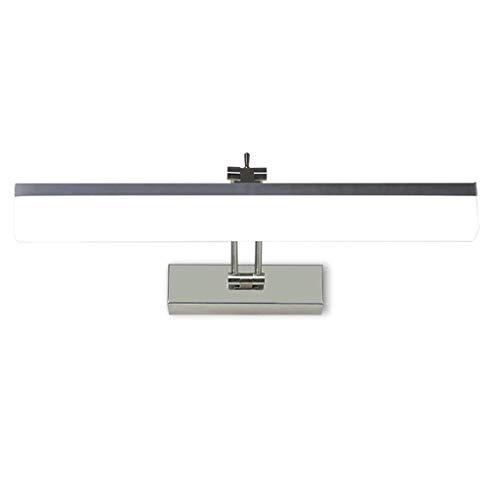 Spiegelfrontlamp geleid badkamer lamp kaptafel lamp spiegel kast verlichting energie-efficiëntieklasse A + (Color : Warm White Light)
