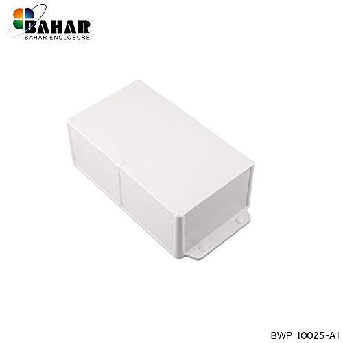 Bahar Enclosure Kunstoffgehäuse Wasserdichte Anschlussdose Weiß Gehäuse Junction Box IP68 Waterproof Enclosure Transparent Kunststoffgehäuse Plastik