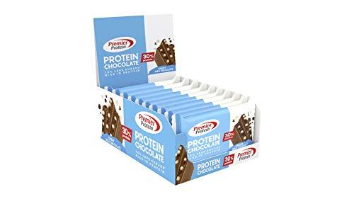 Premier Protein Chocolate Milk Chocolate 20x40g - High Protein Low Sugar Schokolade