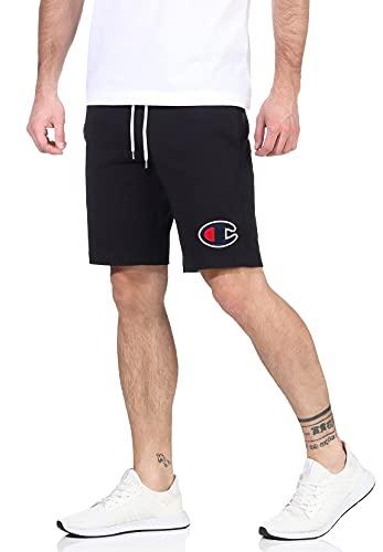 Champion de los Hombres Pantalones Cortos con Logo, Gris