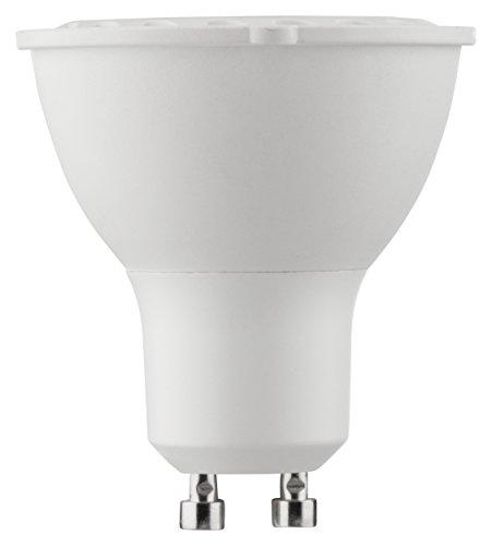 MÜLLER-LICHT 400242 A, LED-Lampe Comfort Dim Ersetzt, Plastik, 6,5-47 W , GU10, weiß, 5,5 x 5 x 5 cm dimmbar