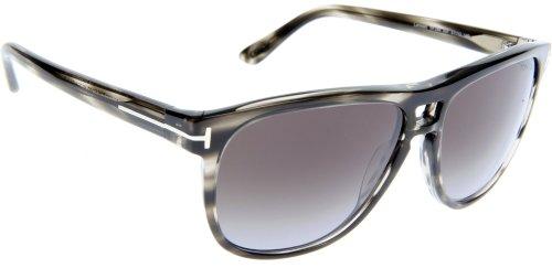 Tom Ford Für Mann 0288 Lennon Dark Brown Tortoise / Gradient Brown Kunststoffgestell Sonnenbrillen, 57mm