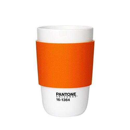 Pantone Kaffeebecher, orange, 375ml