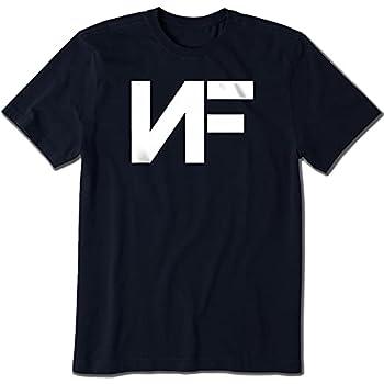 Men s NF Merchandise -Classic Tee Rapper Design   Premium Fitted Short-Sleeve Crew T-Shirt Black