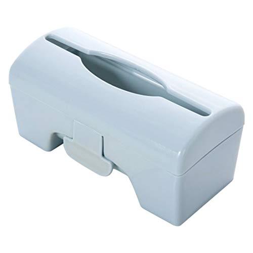 Storage Boxes & Bins - 1pc Self Adhesive Wall Mounted Garbage Bag Plastic Storage Box Bathroom Extraction - Organizers Boxes Storage Bins Storage Boxes Bins Organ Wastebasket Router Bath