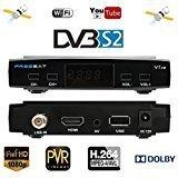 FREESAT V7 1080P DVB-S2 TV Box Receiver Digital Video Broadcasting Receiver Set Top Box Support USB PVR EPG for HDTV