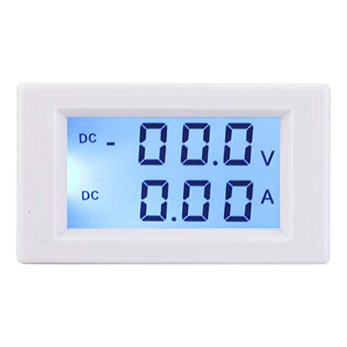 Voltmeter-Spannungstester, Gleichstrom-Digital-LCD-Amperemeter Volt Amp Mete, Spannungsstrom für Wechselrichter, Solarenergie, Windgenerator usw.