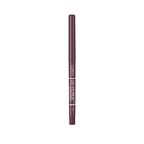 L'Oreal Infallible Never Fail Lip Liner Pencil, Plum 1 ea