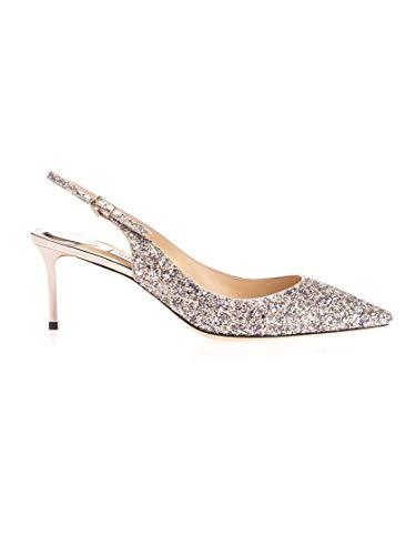 Luxury Fashion | Jimmy Choo Mujer ERIN60GTZPLATINUMMIX Plata Zapatos Altos | Otoño-Invierno 19