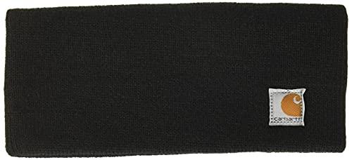 Carhartt Women s Acrylic Headband,Black,One Size