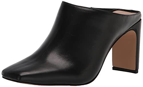 The Drop - Mule Avena para mujer, con tacón ancho y puntera cuadrada