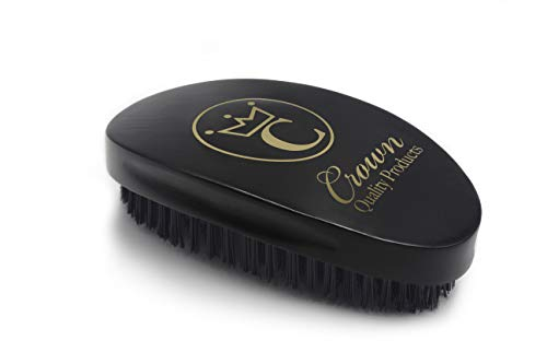 Crown Quality Products 360 Gold Ceaser Wave Brush...
