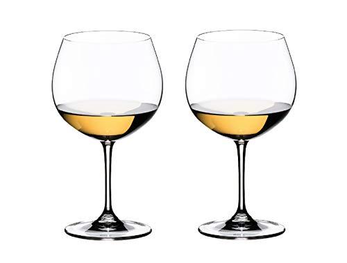 [正規品] RIEDEL リーデル 白ワイン グラス ペアセット ワイン オークド・シャルドネ 600ml 6448/97
