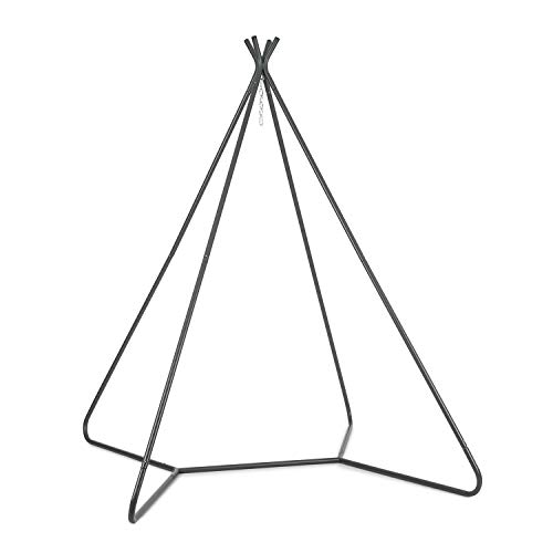 blumfeldt Ischia - Rahmen, Steck-System, für drinnen und draußen,max. Belastungsgewicht 300 kg, vierbeiniger Ständer, 3,2 cm Ø Stahlrohre, Pulverbeschichtung und Verzinkung, Material: Stahl, grau