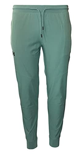 Under Armour Men's UA Sportstyle Storm Elite Joggers Pants (Lichen Blue, Small)