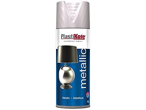 Plasti-Kote Metallic Brshd Nickel 400Ml