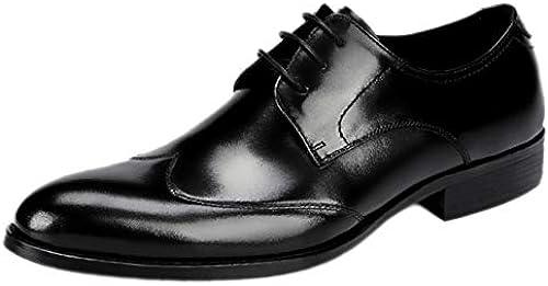 nihiug Herrenschuhe Herrenschuhe Schnürschuhe Klassische Klassische Klassische Büro Leder Größe Schuhe Business-Schuhe  hohe qualität und schnelles verschiffen