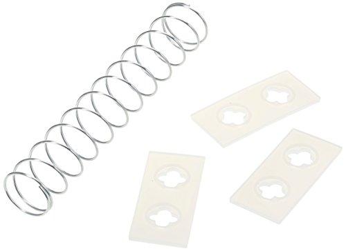 Westmark 40332250 Set Plaque d'éjection et 1 Ressort pour Dénoyauteur de Cerises 4030 3 pièces, Plastique, Argent, 10 cm