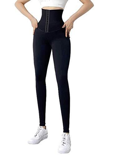 Legging de Sport Femmes Fitness Taille Haute réglable Pantalon Yoga (XX_l)