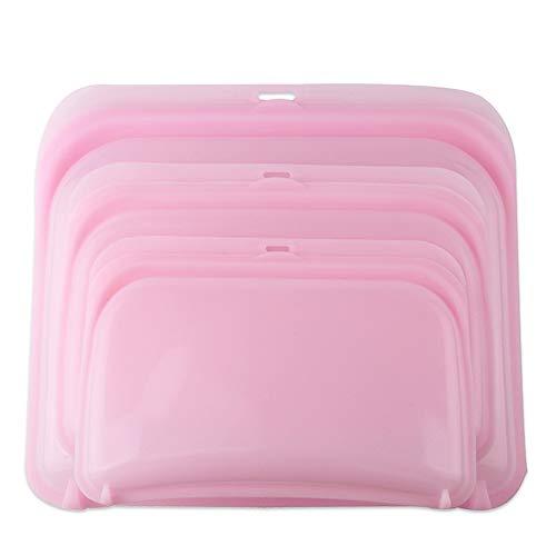 Bolsa de almacenamiento 1500 ml de silicona sellada bolsa de almacenamiento bolsa de alimentos