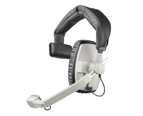 Beyerdynamic DT-108-200-400-GREY - Auriculares de Diadema con micrófono hipercardioide dinámico, 400 ohmios, Color Gris