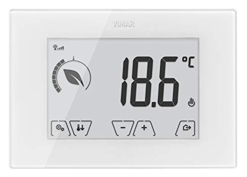 Vimar - Termostato tactil gsm 230v blanco