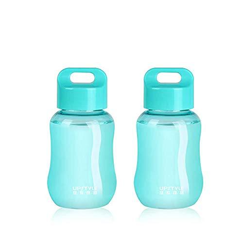 JILIGUALA UPSTYLE - Mini tazas de plástico para café, café, té, zumo de 180 ml, ., Paquete de 2 unidades.