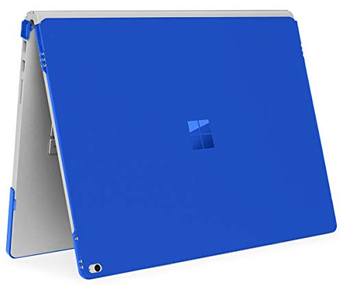 mCover Hard Shell Case for Microsoft Surface Book Computer 1 & 2 (13.5-inch Display, Blue)