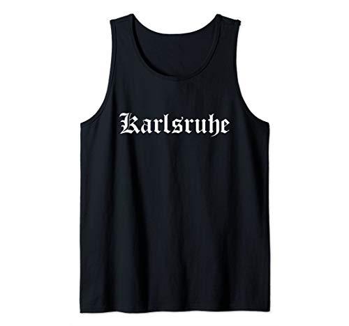 Karlsruher Heimat Stadt Karlsruhe Tank Top