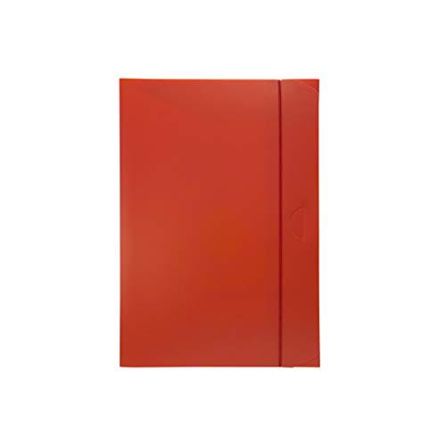 Fellowes U140RO Cartella Progetto Dorso 3, Rosso