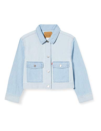 Levi's Kids Mädchen Jeansweste Lvg Soft Light Core Coat Truck