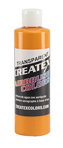 Createx Colors Paint for Airbrush, 8 oz, Transparent Sunrise Yellow by Createx Colors