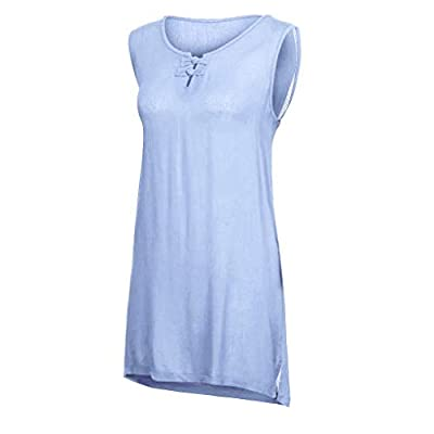 RAINED-Women Plus Size Tunic Tanks O-Neck Button Pure Color Tank Tops Vintage Sleeveless Tops Linen Tunic Blouse
