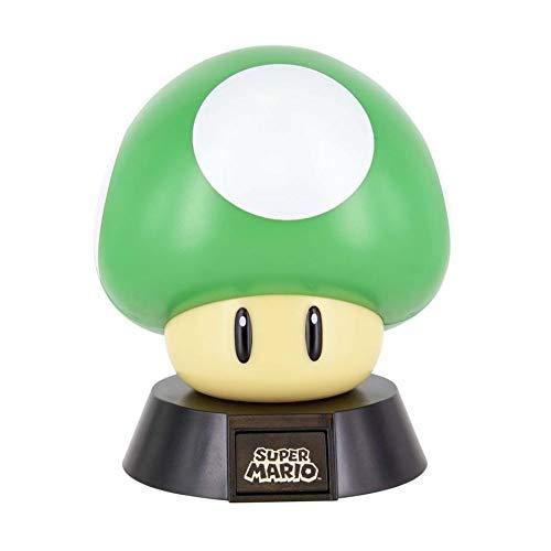 Super Mario - 1Up Pilz - Tischlampe | Offizielles Merchandise