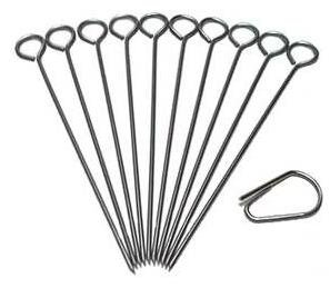 10 Stück Rouladennadeln Edelstahl Rouladen Nadeln Made in Germany rostfrei hochwertig