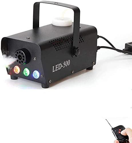 Fog Machine,500W Smoke Machine with LED Lights Wireless Remote Control for...