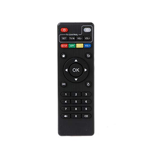 QiulipIR Fernbedienung für Android TV Box H96 Pro+/M8N/M8C/M8S/V88/X96/MXQ/T95N/T95X/T95