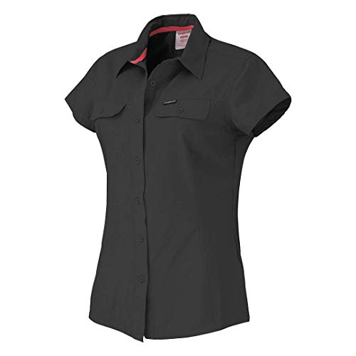 Trangoworld Silkta Camisa, Mujer, Kaki Oscuro, XS