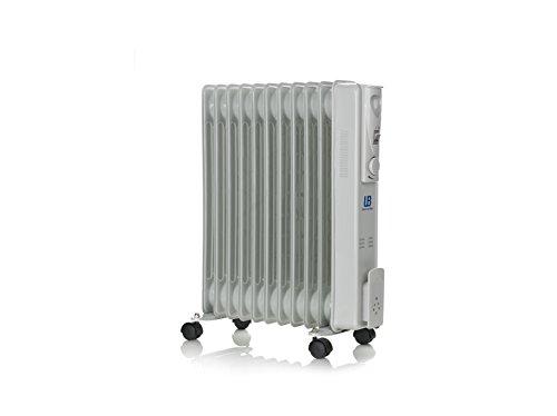 UNIVERSALBLUE URA2500-16 - Radiatore a olio, 2500 W, grigio