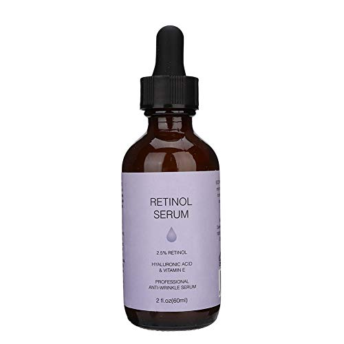 Siero al retinolo da 60 ml, rassodante pori Restringimento rimozione delle rughe Cura della pelle anti invecchiamento, aiuta a ridurre la comparsa di linee sottili