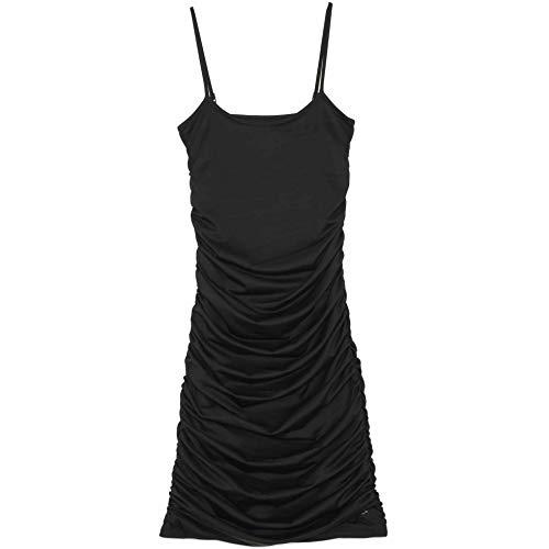 Sixth June - Vestido de tirantes ajustado, color negro