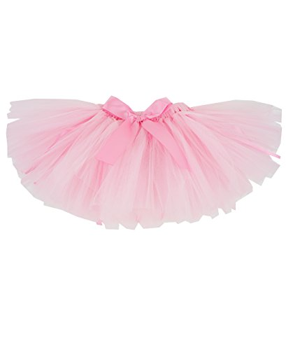 RuffleButts Girls Pink Tutu - 2T-4T