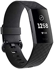 Fitbit Charge 3 Fitness Tracker - Black/Graphite
