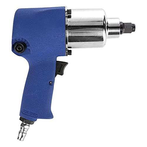 LANTRO JS - Llave de impacto neumática industrial de aire, pistola de llave de impacto neumática 550N-N de alta potencia, pistola de llave de impacto neumática universal de 1/2 pulgada para trabajos d